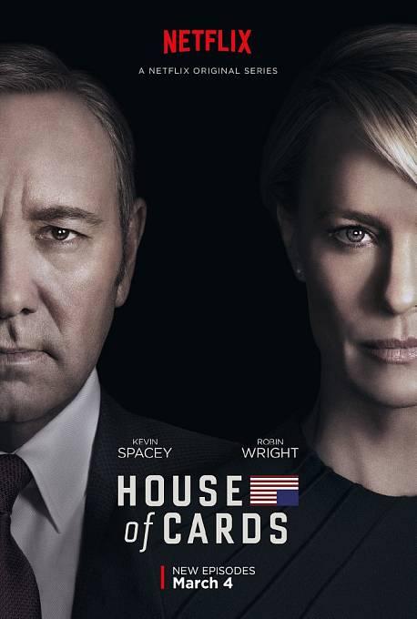 Nejslavnějším seriálem Netflixu je Dům z karet o americké politice.