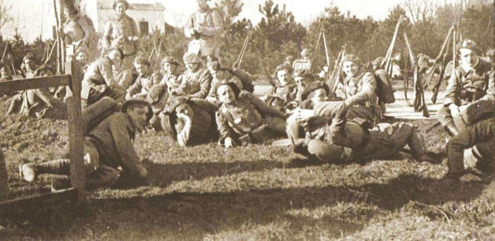 Čs. legionáři, přelom let 1918-19