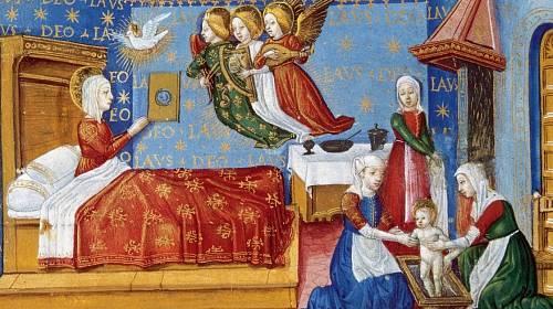 Porod ve středověku představoval pro ženu vysoké riziko.