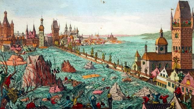 Povodně v Praze roku 1784