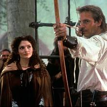 Nejznámějšího filmového Robina Hooda ztvárnil Kevin Costner