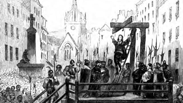 Popravy byly ve středověku oblíbenou zábavou.