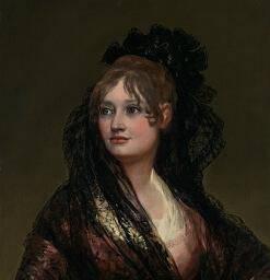 """Goyův obraz """"Doña Isabel de Porcel"""""""