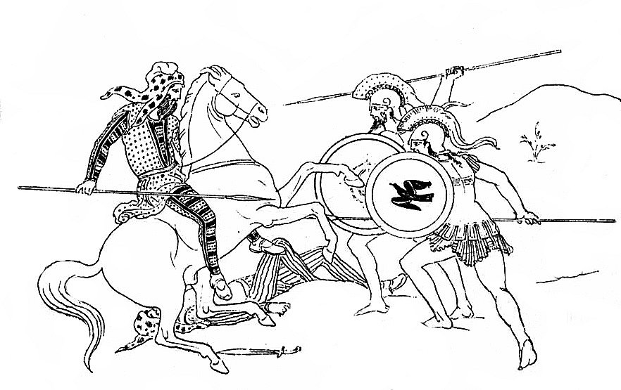 Řekové homosexuální vztahy mezi muži cíleně pěstovali, aby udrželi soudržnost bojových formací