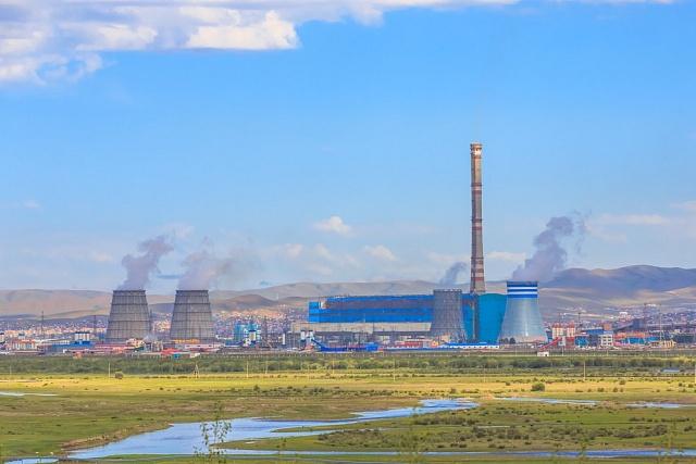 Jaderná elektrárna vUlánbátaru.