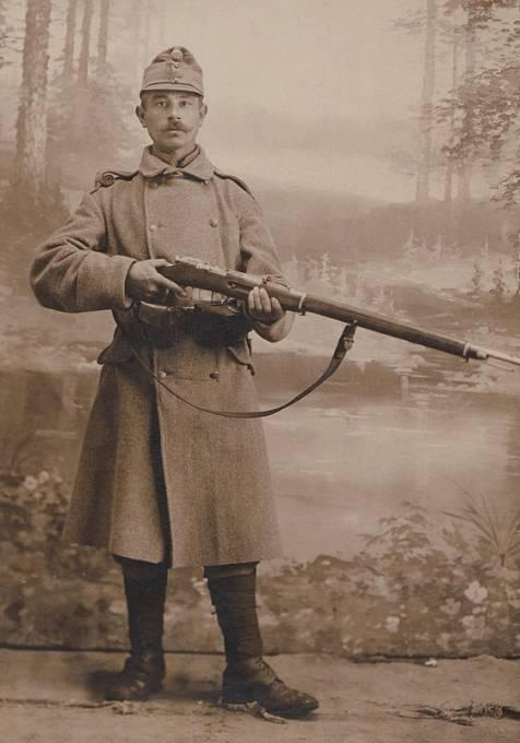 Infanterista Tomáš narukoval na ruskou frontu na podzim roku 1915.