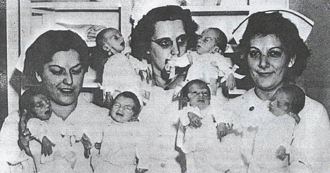 Děťátka z inkubátorů
