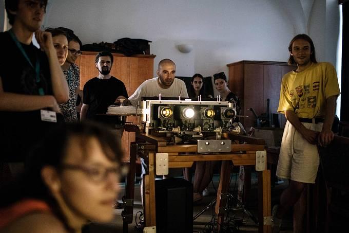 Filmové muzeum NaFilM se objevilo i na Letní filmové škole v Uherském Hradišti