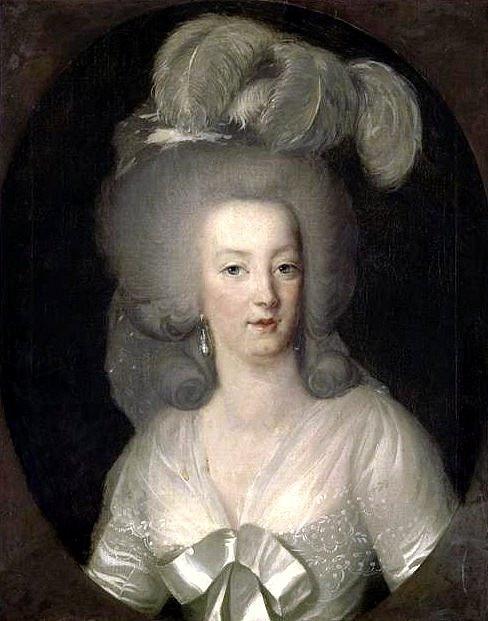 Marie Antoinetta se bez paruky neobešla.