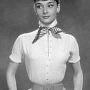 Audrey Hepburnová na propagačním snímku k filmu Prázdniny v Římě, který ji okamžitě proslavil