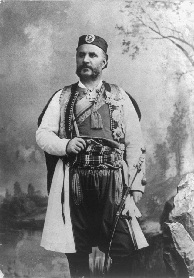 Černohorský král Nikola I. vroce 1909