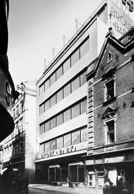 Obchodní dům Brouk & Babka v Brně z roku 1934