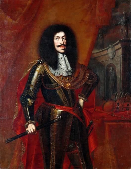 Portrét císaře Leopolda I.