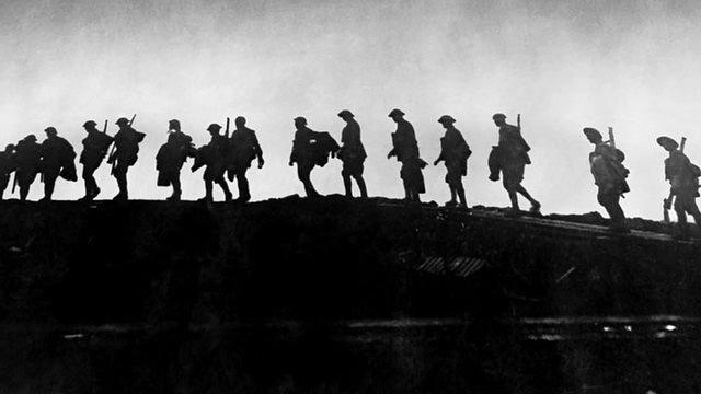 Jen vbitvě uVerdunu našlo smrt 1,3milionu mužů.