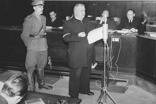 Jozef Tiso před Národním soudem