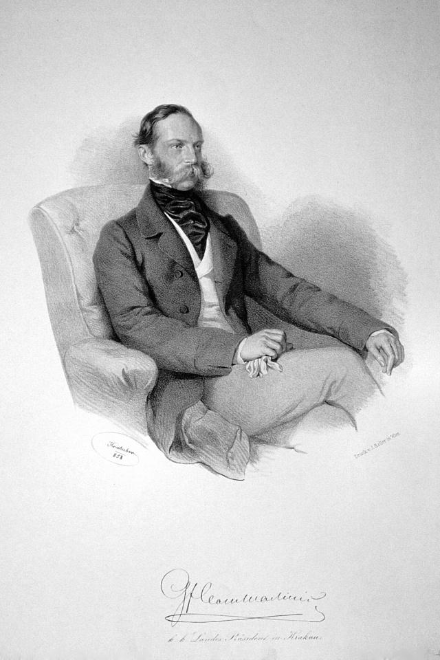 Hrabě Jindřich Clam-Martinic vedl jednání za české poslance