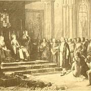 Kryštof Kolumbus u španělského dvora