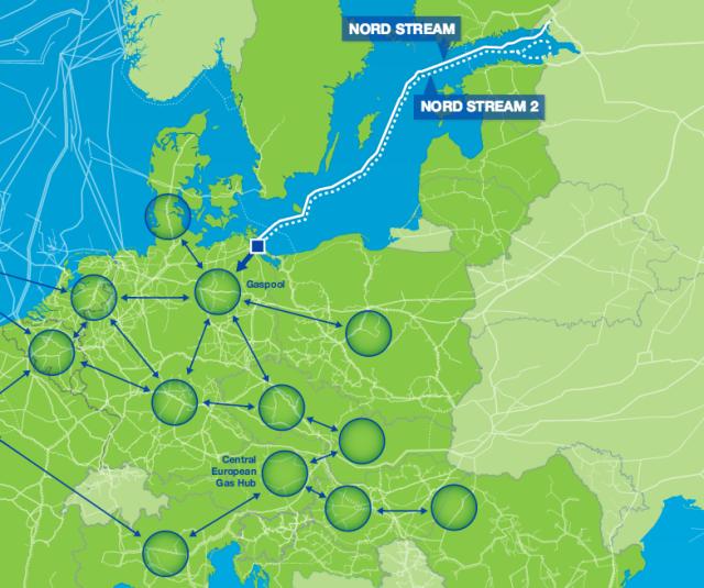 Nová mapa Evropy: jak bude trh splynem fungovat po rozšíření Nord Streamu.