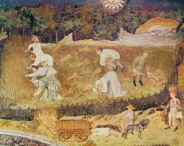 Lidé byli svázáni spronajatým kusem půdy po celý život.