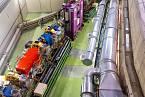 Urychlovač částic - ilustrační foto