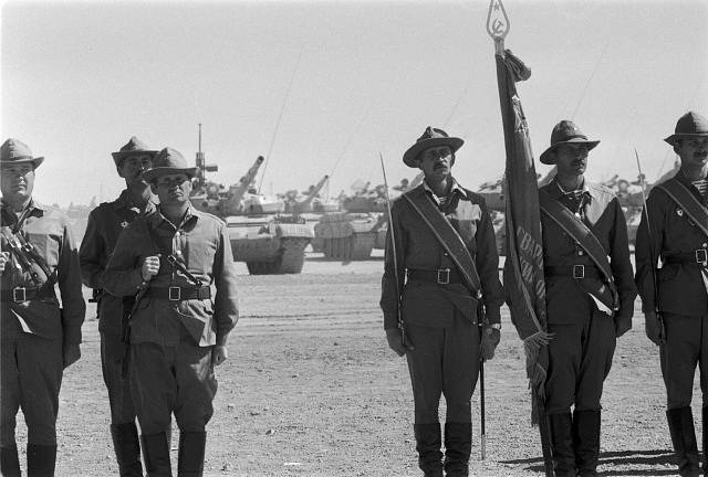 nastoupená jednotka; Sovětská armáda
