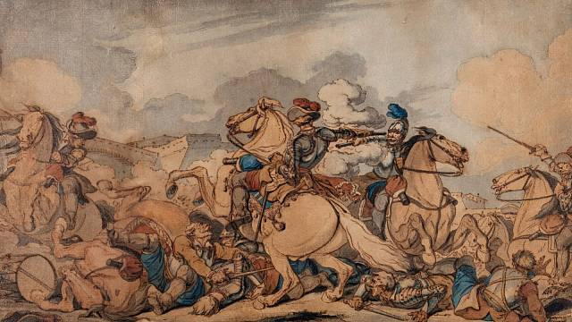 Ilustrační foto: Scéna z třicetileté války od Johna Augusta Atkinsona