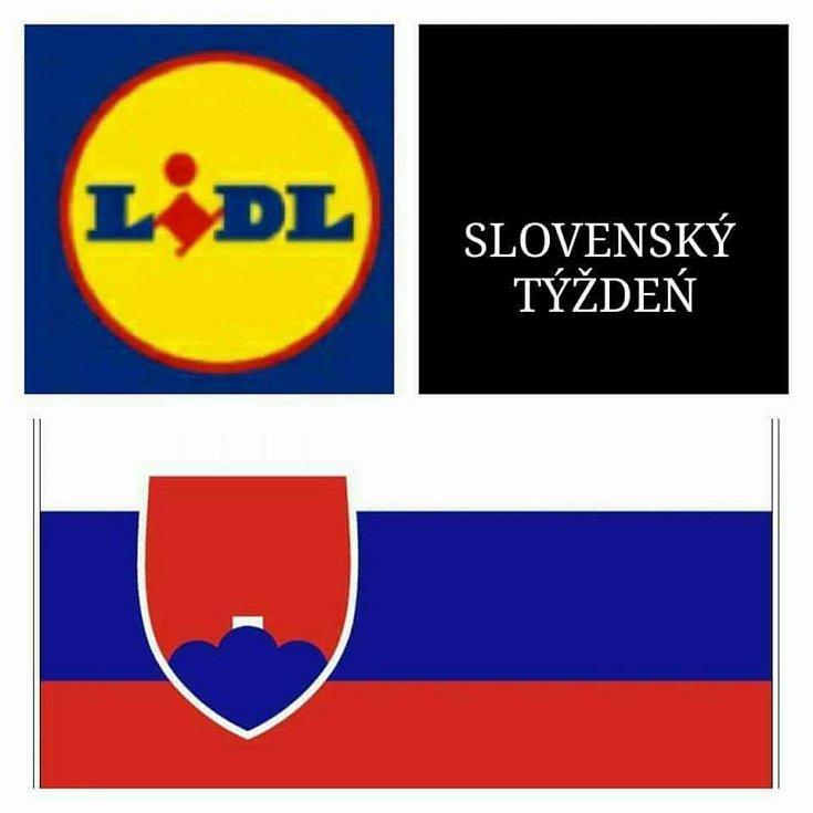 Slovenský týden v Lidlu v několika variantách