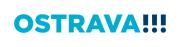 Logo Ostravy od Studia Najbrt
