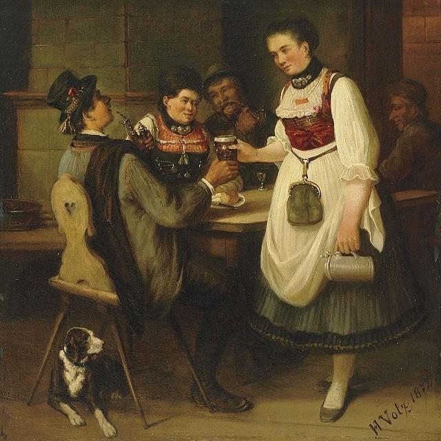 Pivo bylo v19. století, jako dnes, velmi oblíbené