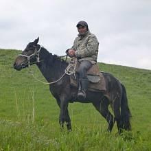 Kovboj z kazašského podhůří Ťan-Šanu