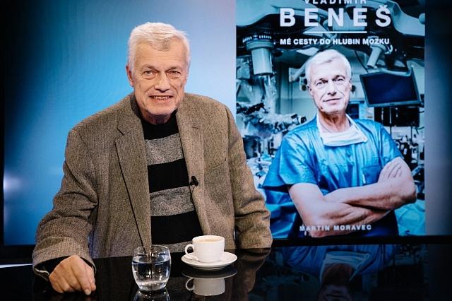 nejznámější český neurochirurg Prof. MUDr. Vladimír Beneš, DrSc.