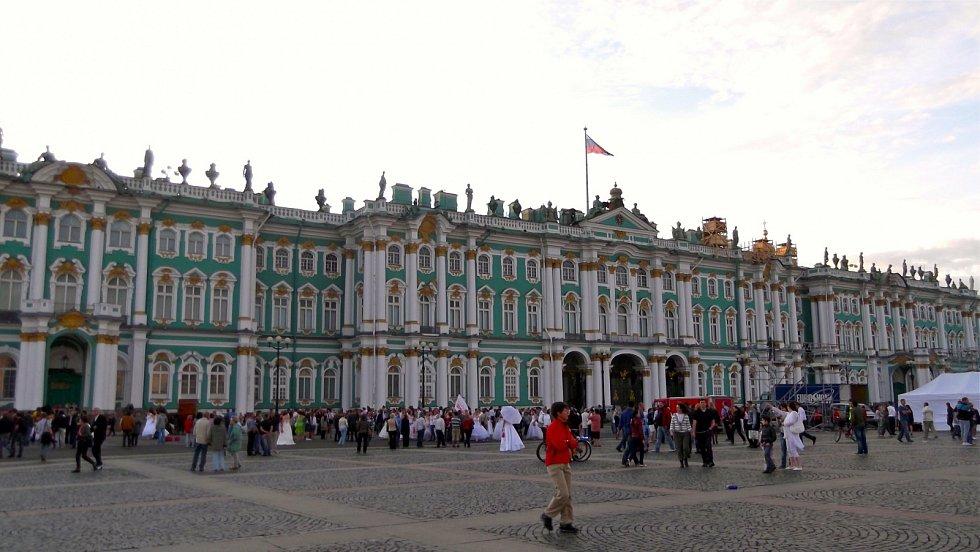 Zimní palác v Petrohradu