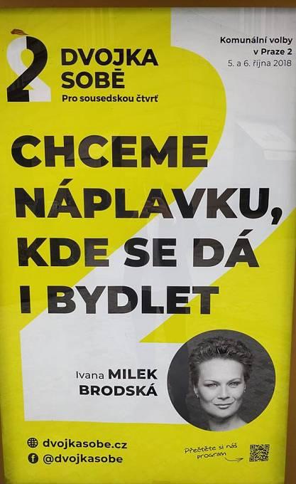 Kampaň, která podle všeho cílí na pražské bezdomovce