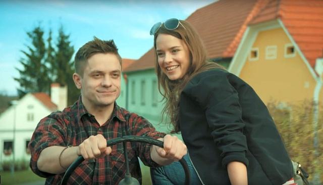 Jiří Mádl a Kristina Svarinská