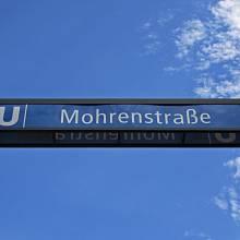 Jednou z ulic, o jejichž názvu se diskutuje, je i Möhrenstrasse