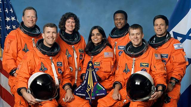 Posádka raketoplánu Columbia