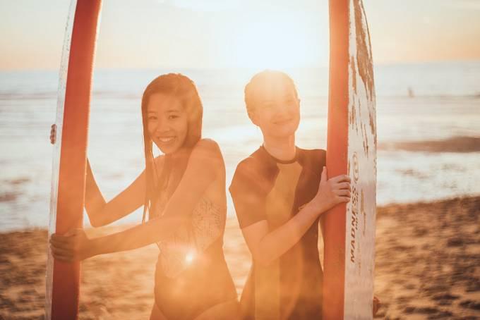 Vodafone pokračuje v projektu Je to v tobě, kde si mohou mladí lidé zkoušet různé profese a dovednosti - včetně surfování