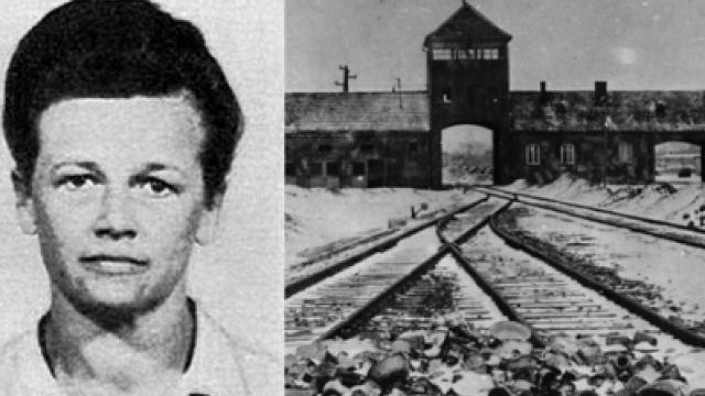Therese Brandl působila jako dozorkyně v koncentračním táboře Osvětim.