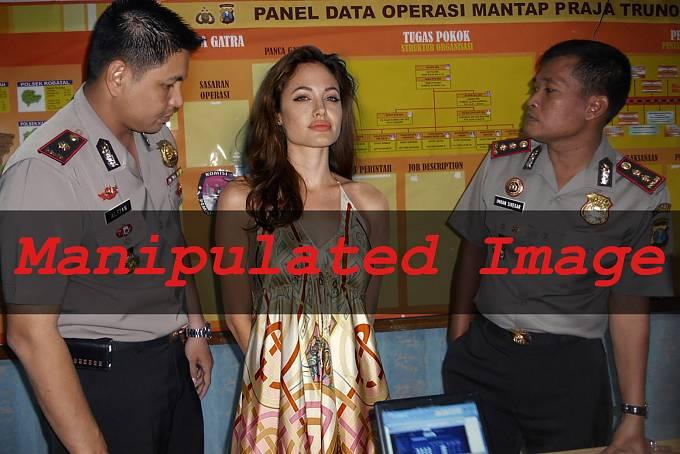 Angelina Jolie zadržená indonéskými policisty