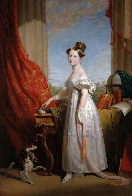 Královna Viktorie ve 14 letech