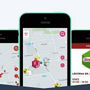 Yemobox naopak ukazuje lidem obchody v okolí