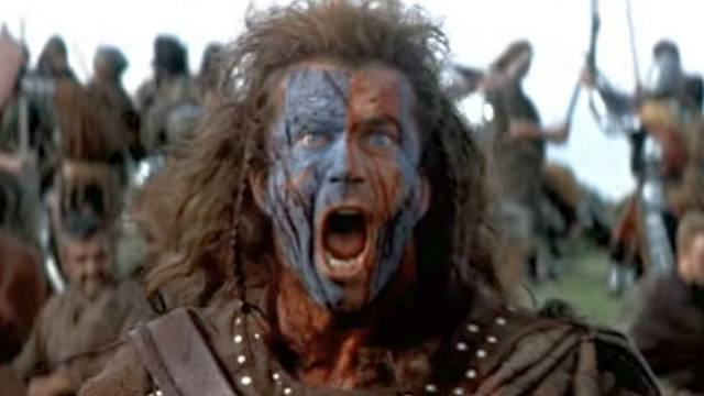 William Wallace v heroickém pojetí Mela Gibsona