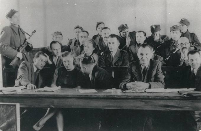 Proces s Pileckým v roce 1948