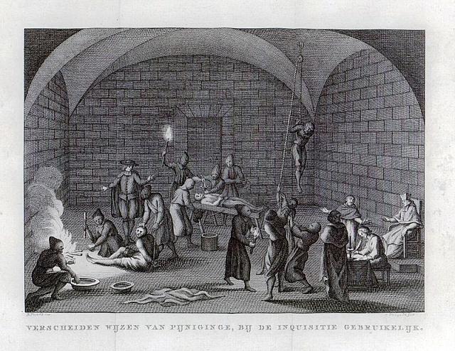 Způsoby mučení používané španělskou inkvizicí