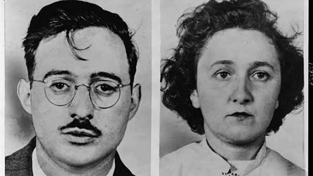 Julius a Ethel Rosenbergovi.