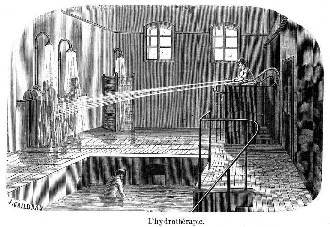 Hydroterapie ve Francii