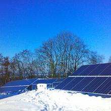 Jedna z fotovoltaik skupiny Photon Energy, nacházející se u Sychrova na Liberecku.