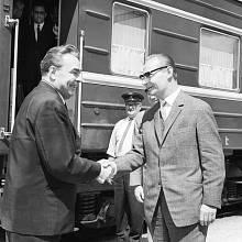 """Jednání v Čierné nad Tisou získalo přízvisko """"vagónové jednání"""" podle vládního vlaku sovětské delegace"""