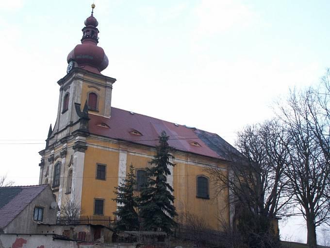 Kostel sv. Petra a Pavla v Jeníkově u Duchcova (v rekonstrukci)