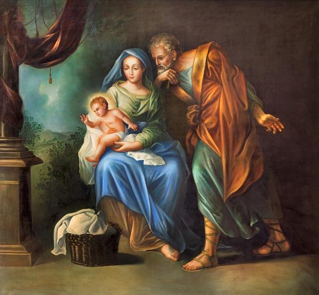 Josef Ježíše ochotně adoptoval.